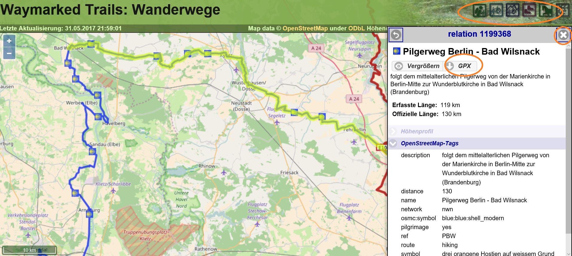 gps-Daten mit MapSource bearbeiten